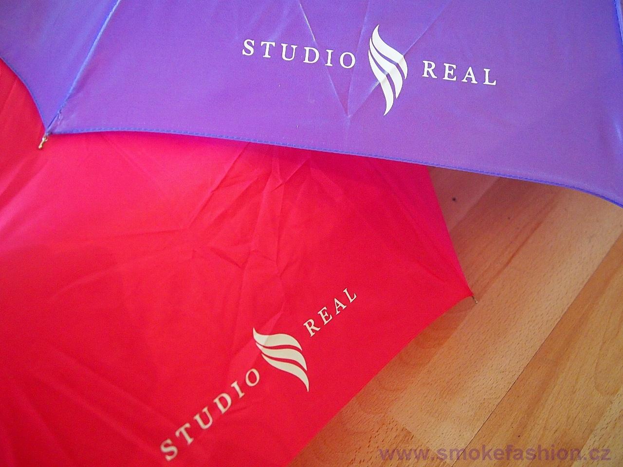 Značkové deštníky s potiskem loga